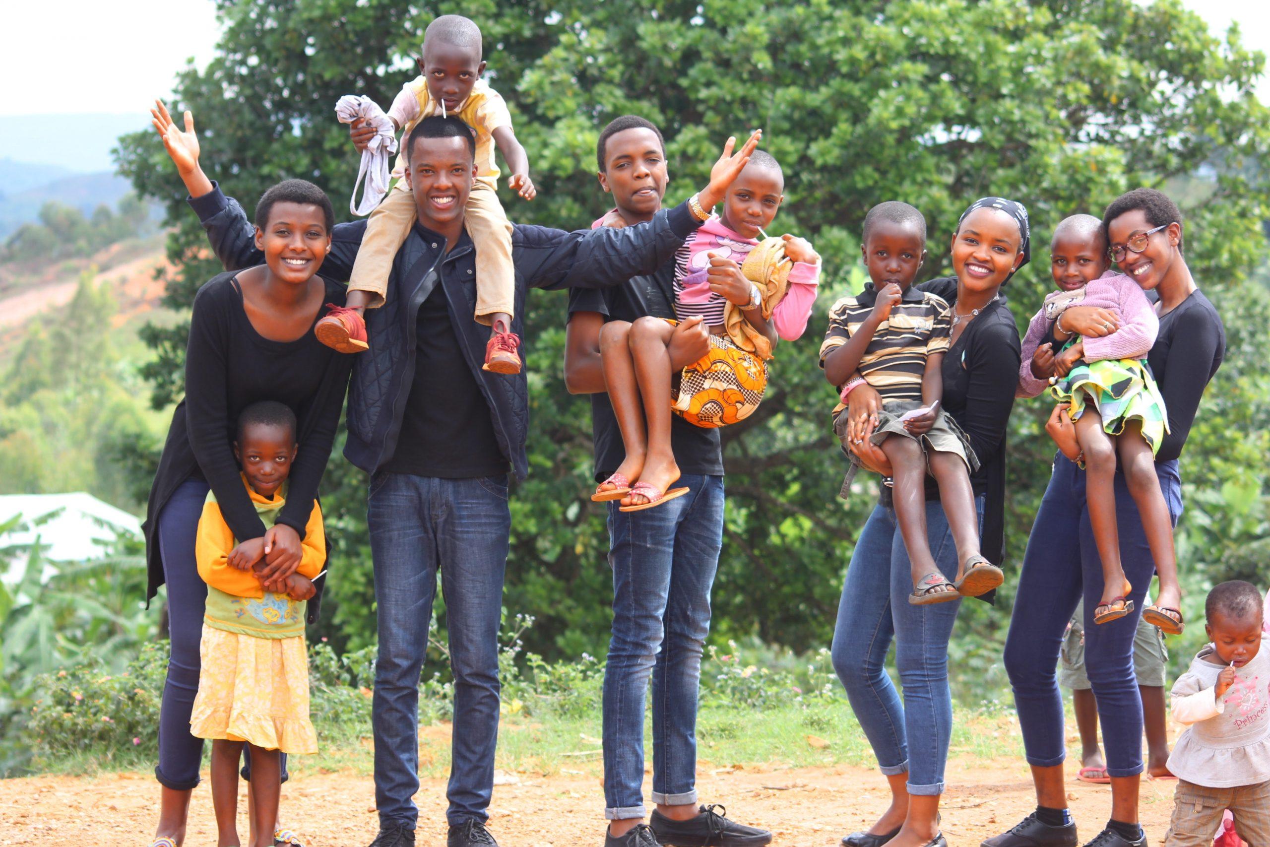 Een groot gezin